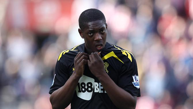 Marvin Sordell is one of four players who were allegedly subjected to racist abuse at Millwall