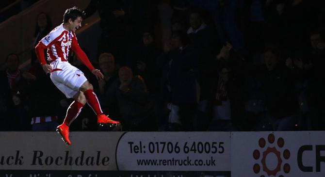 Video: Rochdale vs Stoke City