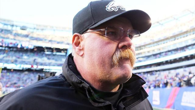 American Football - Chiefs hire new coach Reid to complete day of changes