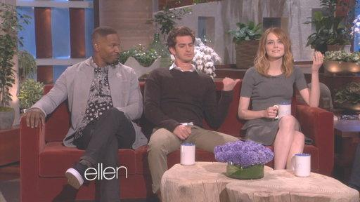 Watch Jamie Foxx Embarrass Andrew & Emma About Their Relationship