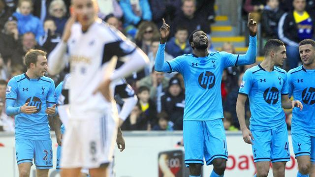 Premier League - Tottenham hit three to beat poor Swansea