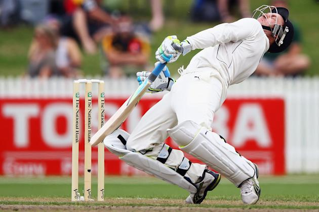 New Zealand v South Africa - 2nd Test: Day 1