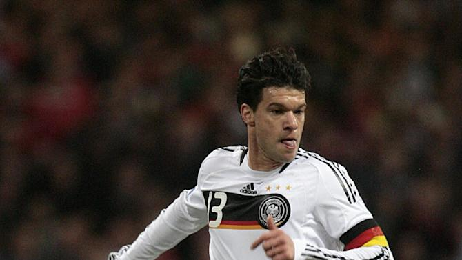 Michael Ballack has retired from professional football