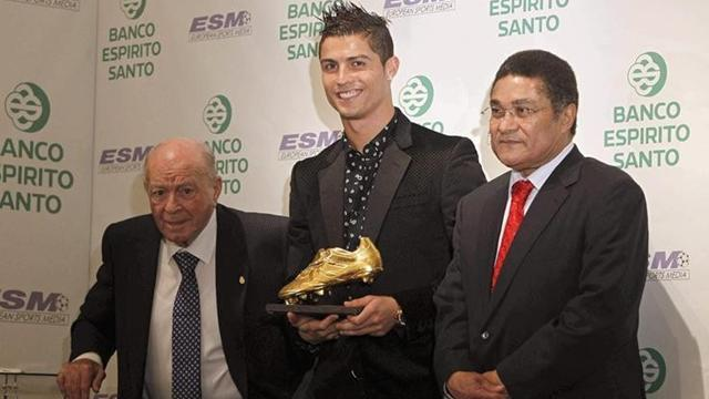 World Cup - Eusebio saddened by claims Ronaldo is Portugal's 'greatest'