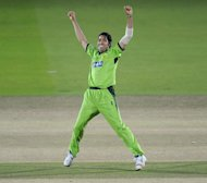 Umar Gul helped Pakistan to a two-wicket win over South Africa