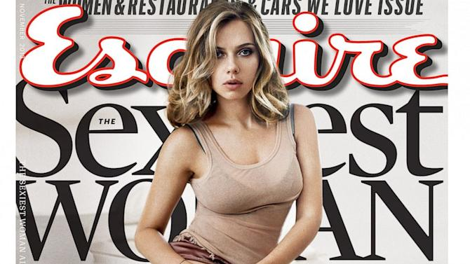 Scarlett Johansson Named Esquire's Sexiest Woman Alive, Again