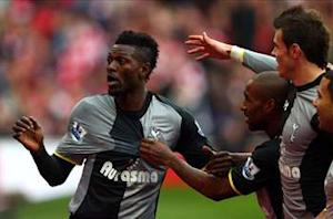 Adebayor wants to 'kill' Arsenal's hopes of a top-four finish