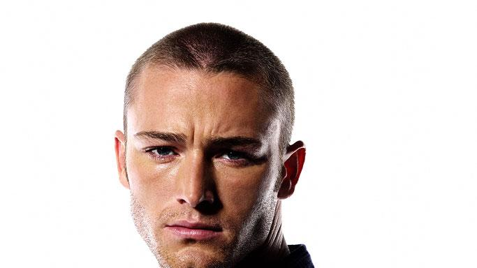 Jake McLaughlin in the Starz series Crash