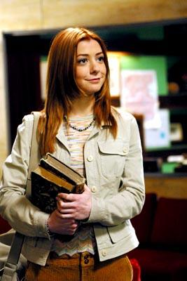 Alyson Hannigan as Willow in WB's Angel