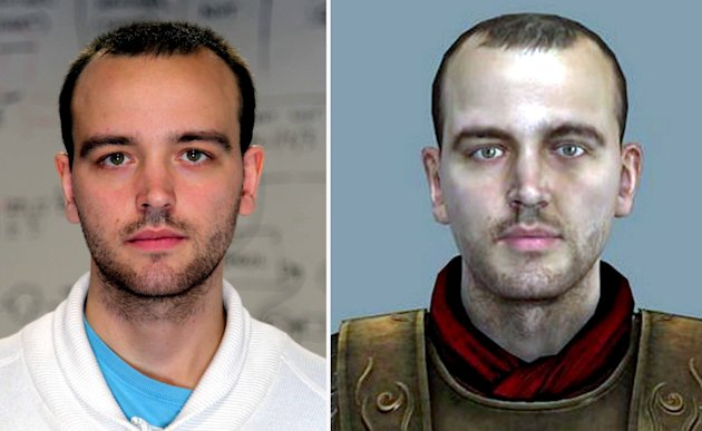 James Payne, 24, died from his illness earlier this year - but a 3D model of James will star as a commander in a Roman legion in Total War: Rome II, due out this October.