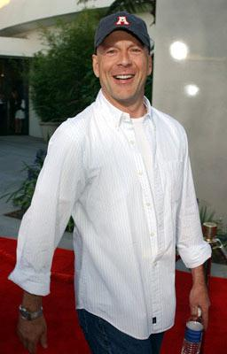 Bruce Willis at the Hollywood premiere of Universal Pictures' The Bourne Supremacy