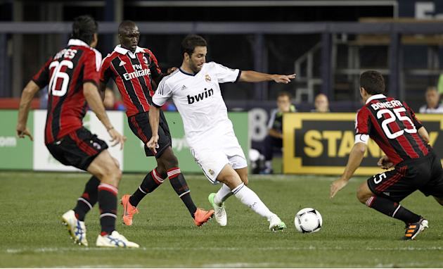 AC Milan v Real Madrid