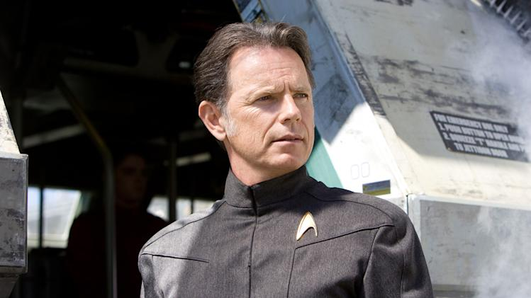 Bruce Greenwood Star Trek Production Stills Paramount 2009