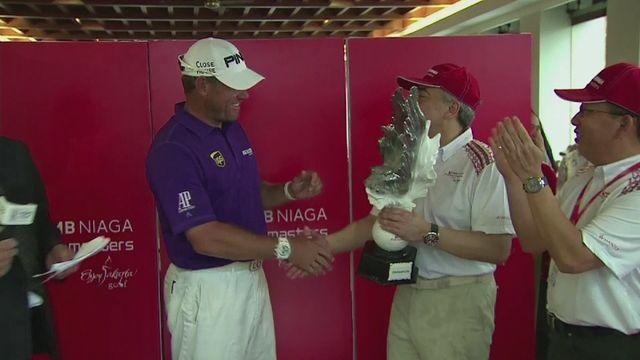 Westwood secures third Indonesian Masters title