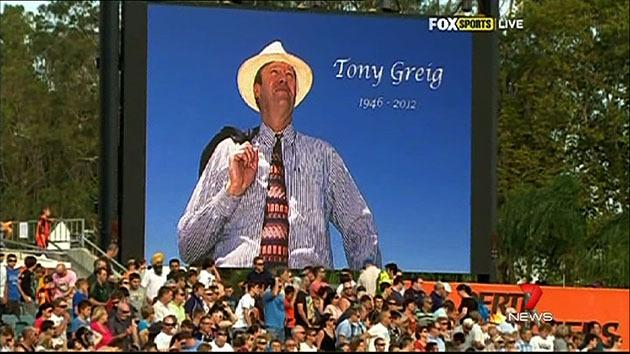 Tributes flow in for Tony Greig