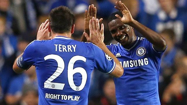 Premier League - Terry nets on 400th league appearance in rousing Chelsea win