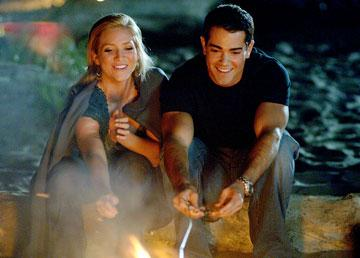 Brittany Snow and Jesse Metcalfe in 20th Century Fox's John Tucker Must Die