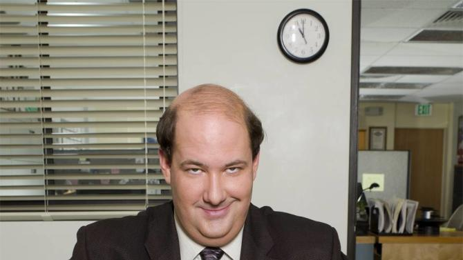 Brian Baumgartner stars as Kevin on NBC's The Office.