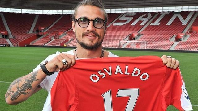 Premier League - Osvaldo: 'Roma wanted me out'