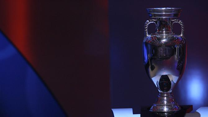 The UEFA European Championship Trophy