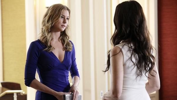 Revenge Boss Previews a 'Powerful' Tragedy, Emily/Aiden At Odds and Amanda's 'Darker' Path