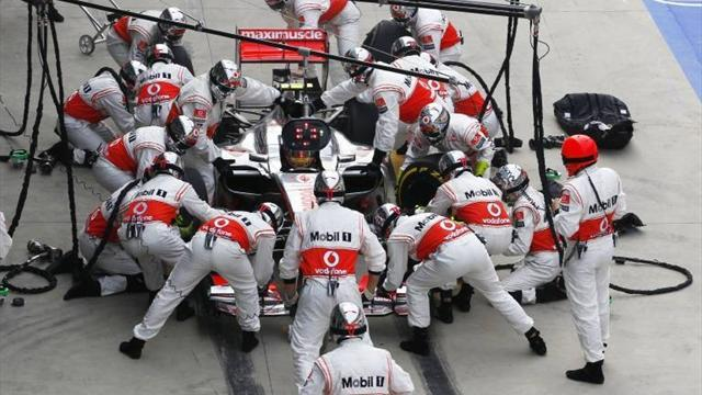 Formula 1 - Drivers say F1 must keep fast pitstops