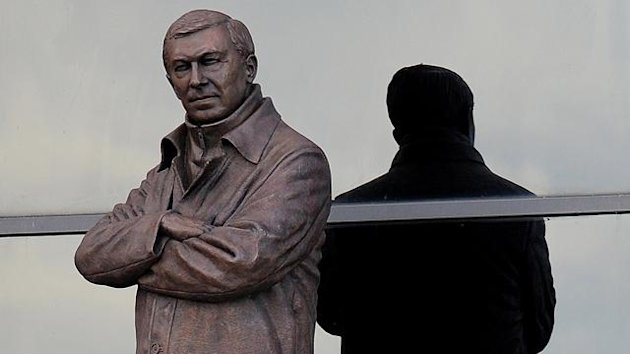 Sir Alex Ferguson statue (AFP)