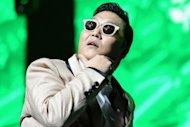 "Psy on stage on December 8, 2012 in Miami. His ""Gangnam Style"" topped YouTube's list of the most attention-grabbing videos this year, as other professionally produced works outshined the amateur clips that had originally made the website famous"