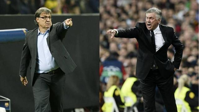 Liga - Counter could be key to 'Clasico' win, Ancelotti says