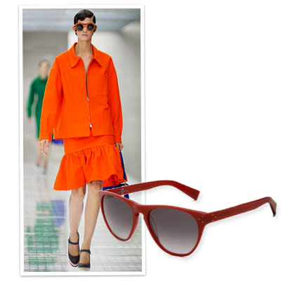 2. Sport a Pair of Eye-Catching Shades