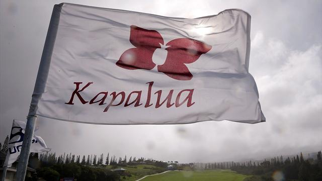Golf - Play scrapped at Kapalua, Tuesday finish planned