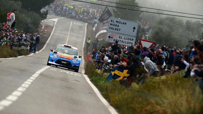 FIA World Rally Championship Spain - Day Two