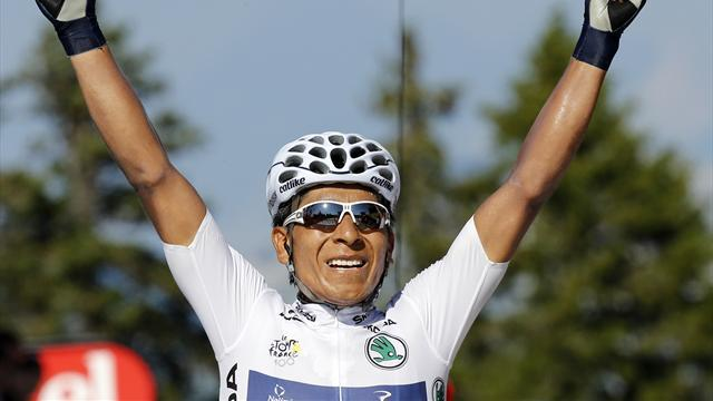 Cycling - Fast learner Quintana makes immediate Tour impact