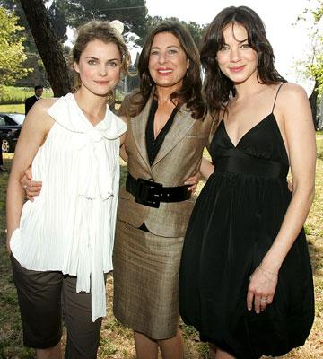Keri Russell, producer Paula Wagner and Michelle Monaghan Mission: Impossible III Rome Photo Call Rome, Italy - 4/24/06