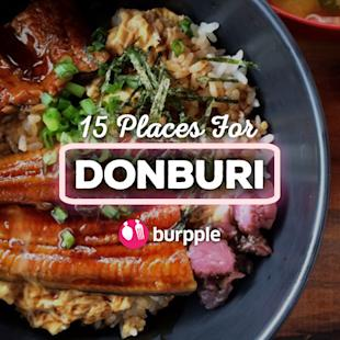 Burpple - 15 Best Places for Donburi In Singapore