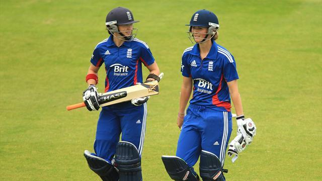 Cricket - England out of women's World Cup despite win