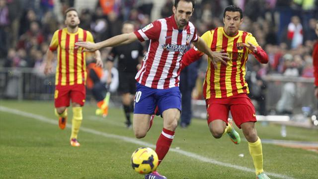 Liga - Barca, Atletico content with draw, Real lurking
