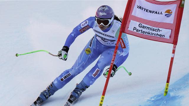 Alpine Skiing - Maze wins Garmisch downhill and breaks 2,000 points