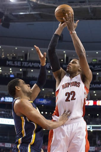 George leads Pacers to 93-81 win over Raptors
