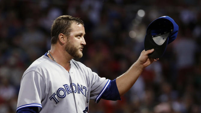 Toronto beats Boston 6-1 to sweep Red Sox