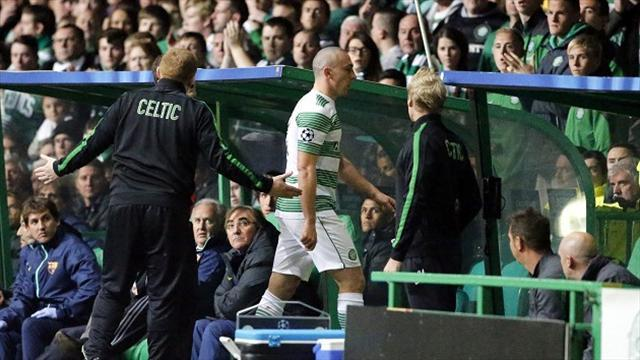 Scottish Premiership - Brown accepts blame for red card