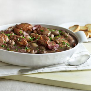 Coq au Vin with potatoes
