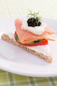 Arctic fish, cucumbers, grains, fresh herbs and yogurt are staples of the New Nordic Diet. (ThinkStock Photos)