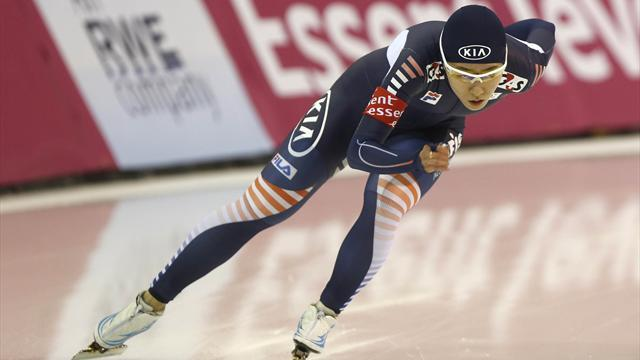 Speed Skating - Lee's World Cup winning run continues in Astana