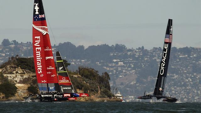 Sailing - Ainslie guides Oracle to brink of miraculous America's Cup comeback