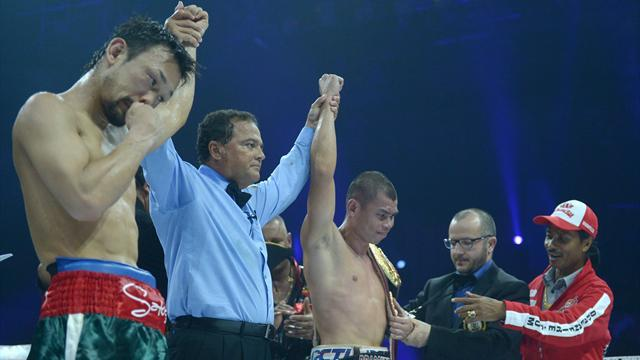 Boxing - John v Hosono ends in draw after accidental headbutt