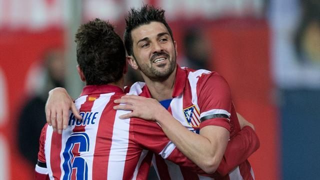 Liga - Atletico Madrid stay top after beating Villarreal
