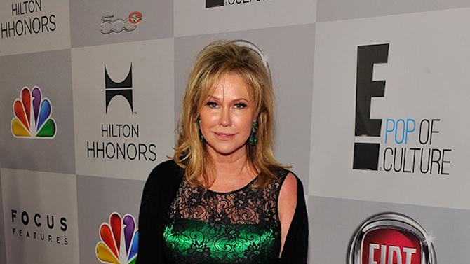 NBCUniversal Golden Globes Viewing And After Party - Red Carpet: Kathy Hilton