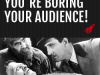 You're Boring Your Audience! 5 Ways To Make Them Sit Up And Listen