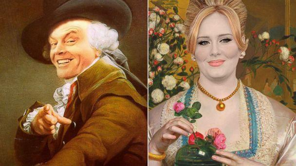Celebs Travel Back in Time Through Classic Works of Art
